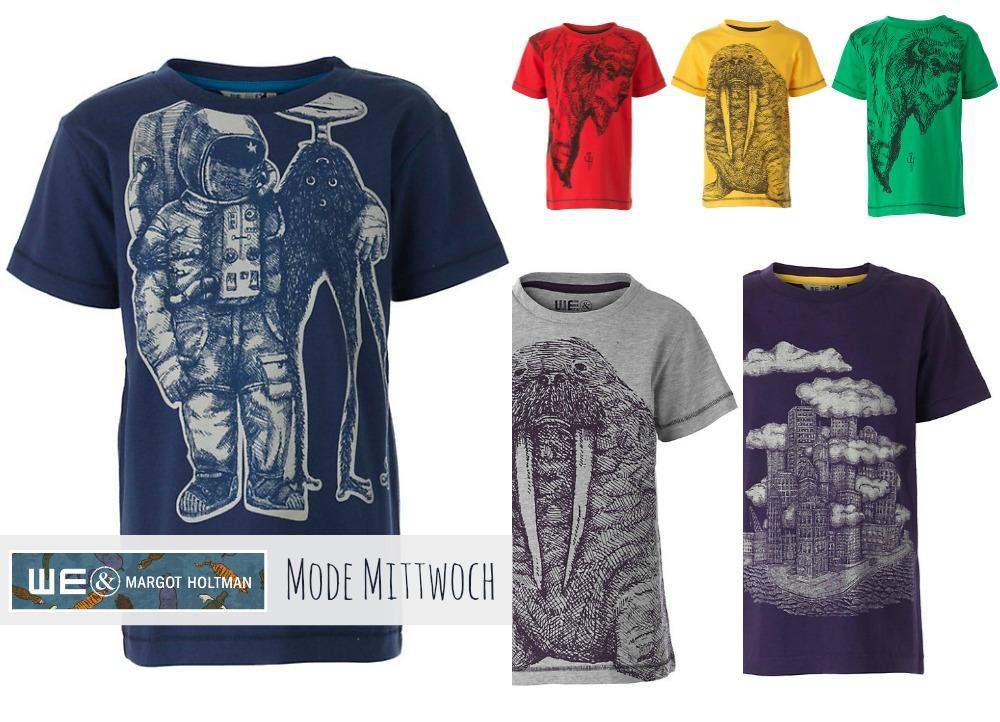 Mode Mittwoch : Shirts einzigartig illustriert