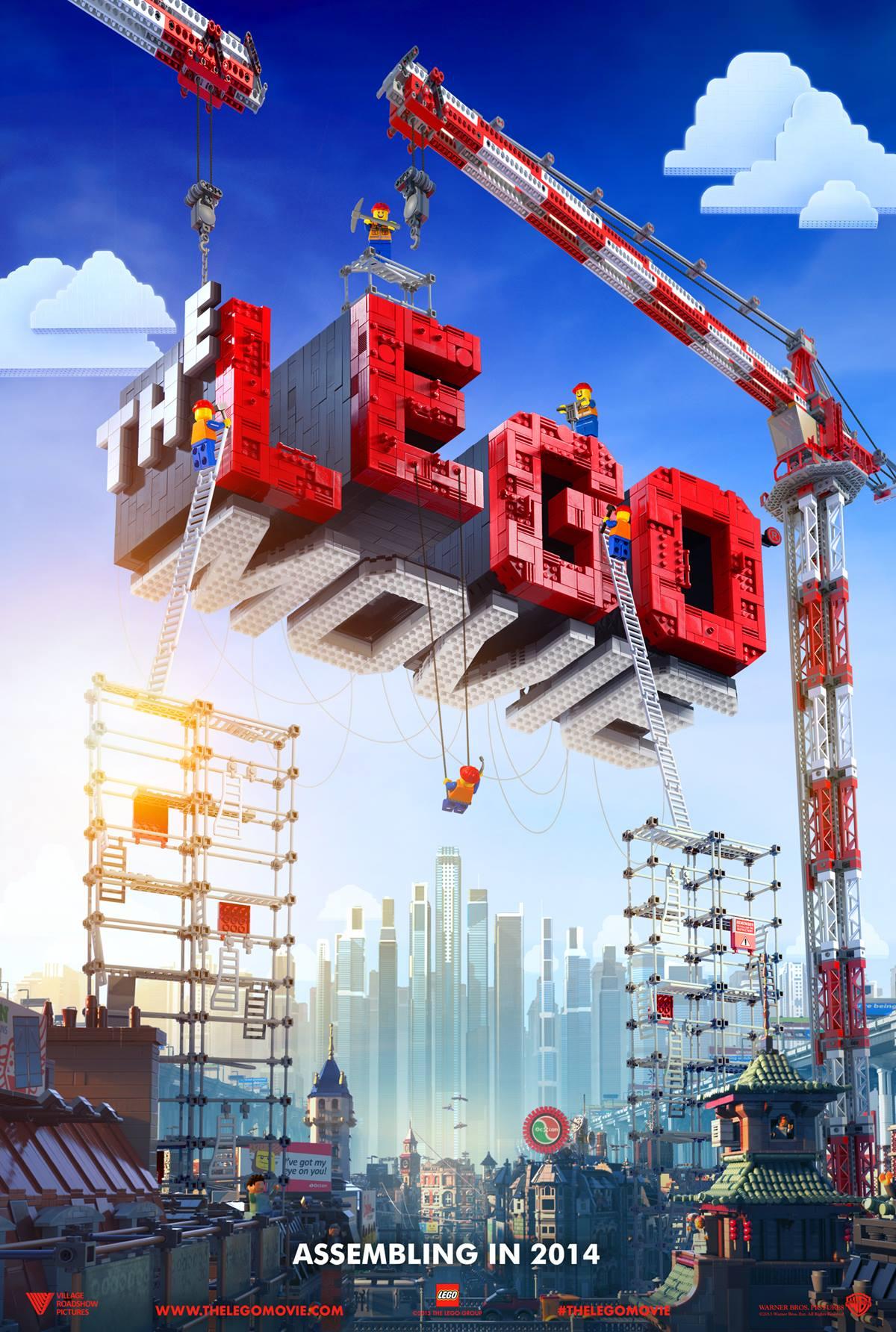 (Deutsch) The LEGO Movie : 2014 kommen die Helden auf die Leinwand!
