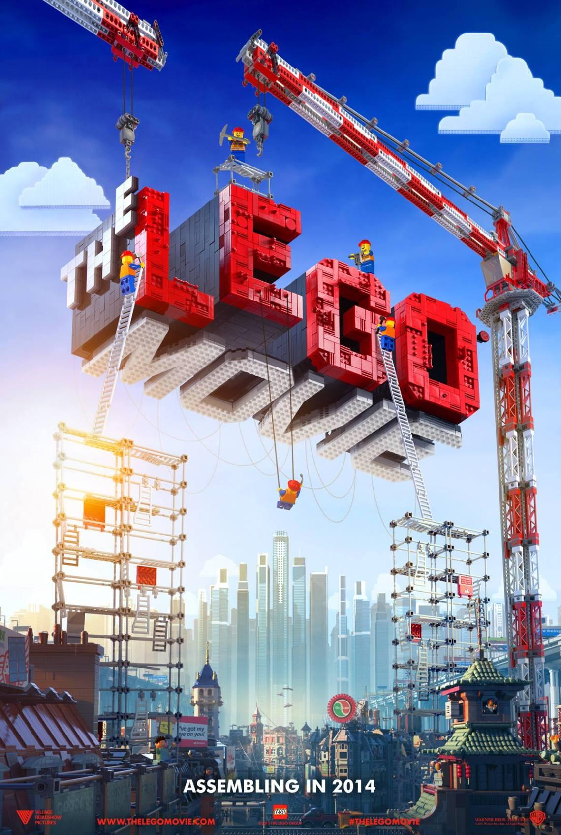 The LEGO Movie spielfilm Plakat animationsfilm in 3D ab 2014 im Kino