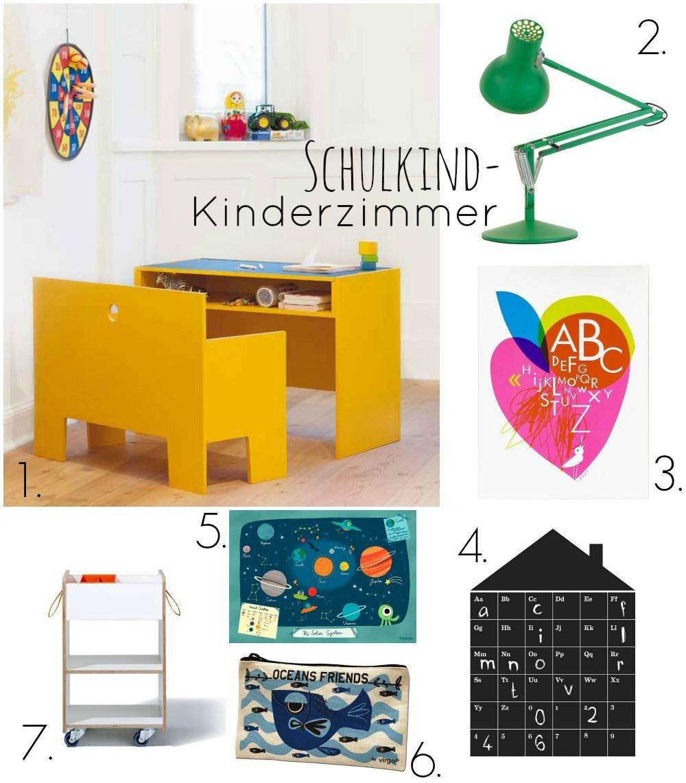 schulkind kinderzimmer moebel und accessoires collage 01