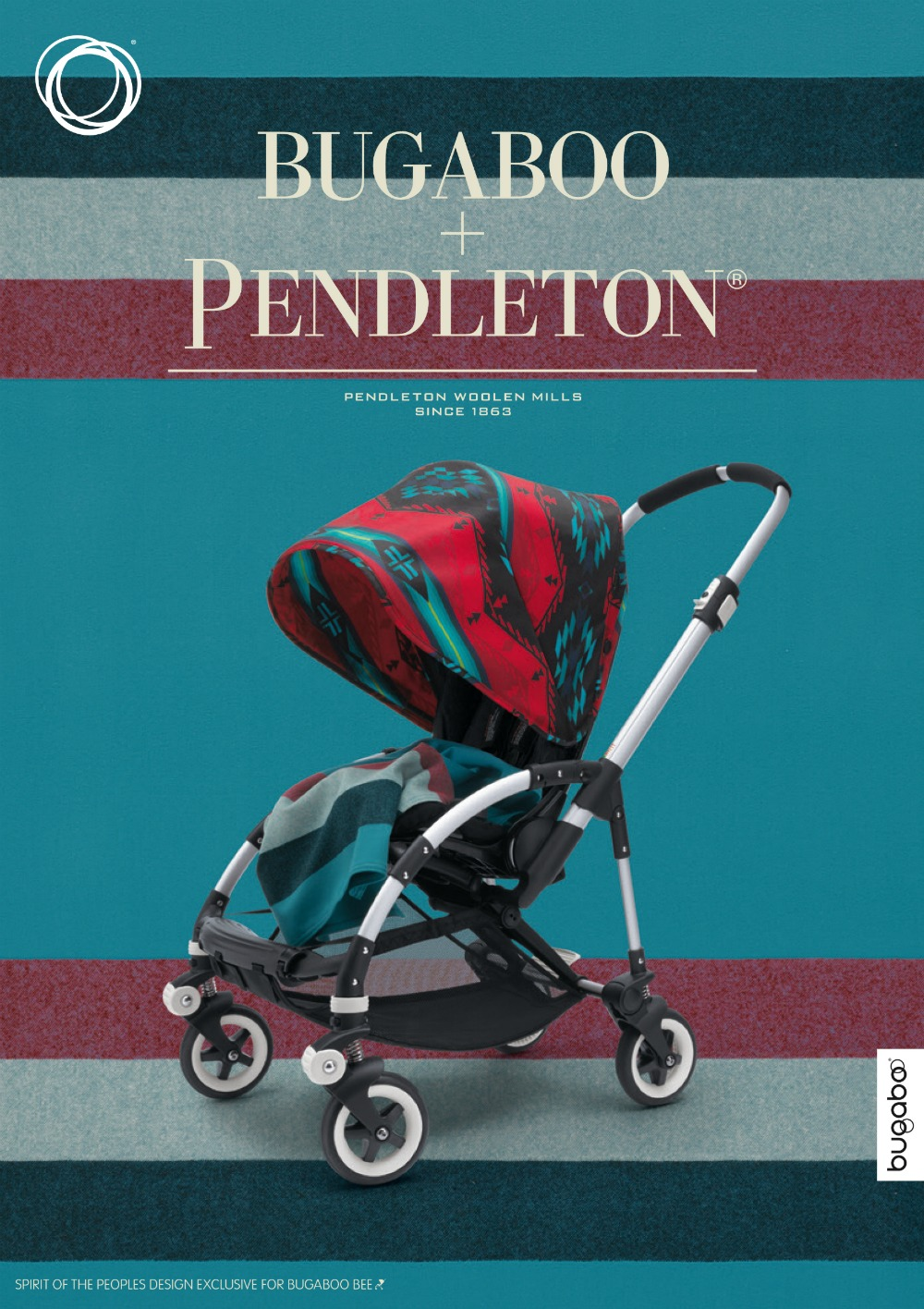 Bugaboo x Pendelton : exklusive Kollektion