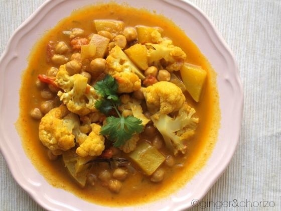 Food Friday : Cauliflower and Butternut Squash Curry