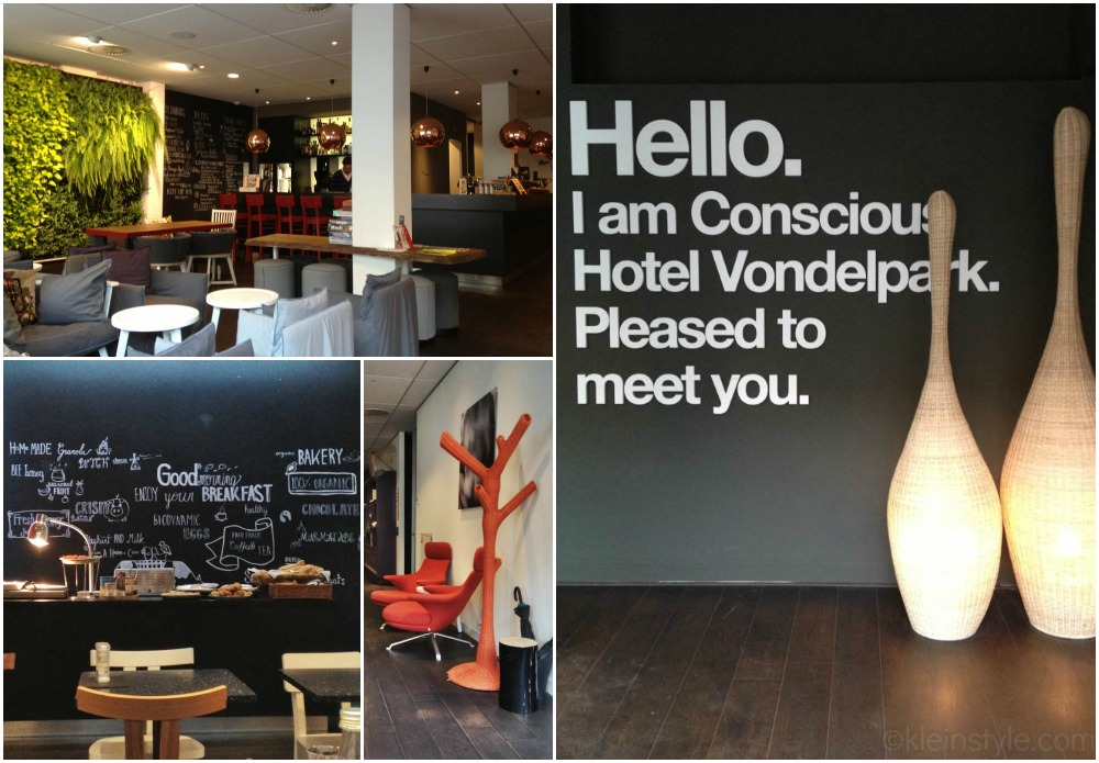 conscious hotel amsterdam collage joolz press event by kleinstyle.com