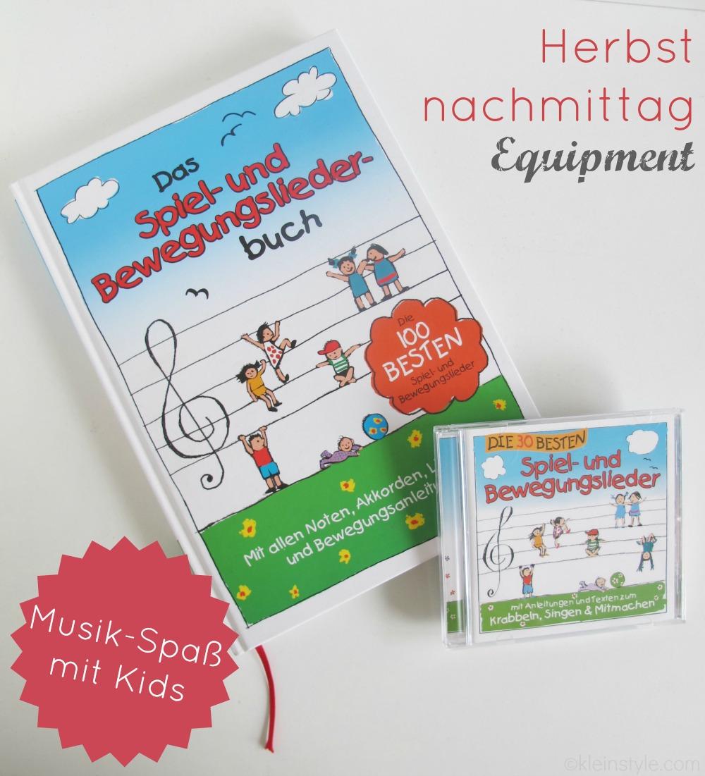 herbstnachmittag equipment musik spaß mit kids cd und liederbuch lamp leute