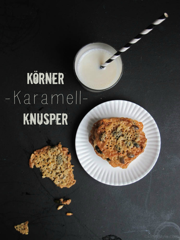 Food Friday : Körner-Karamell-Knusper {für Mäkelmäuler}