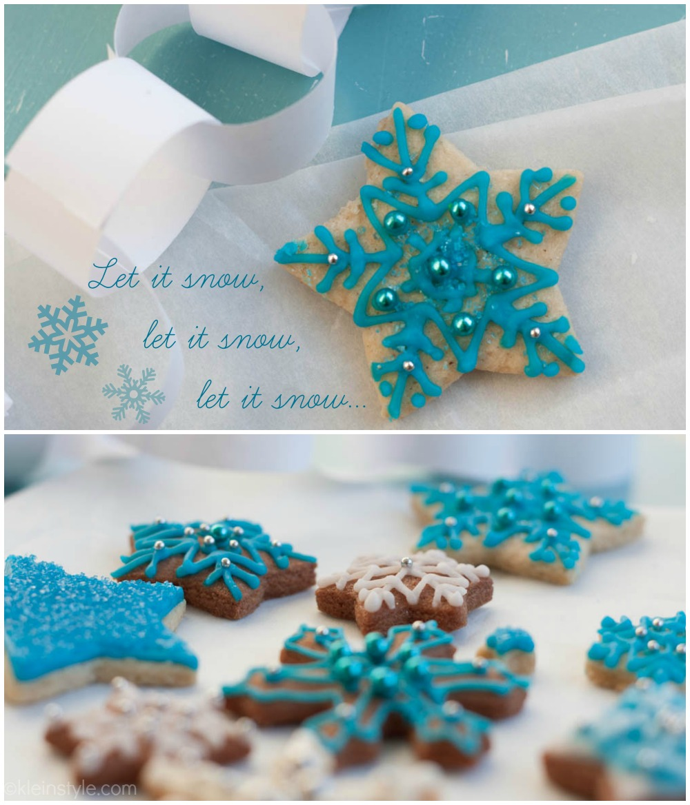 xmas vegan snowflake cookies by kleinstyle.com 02
