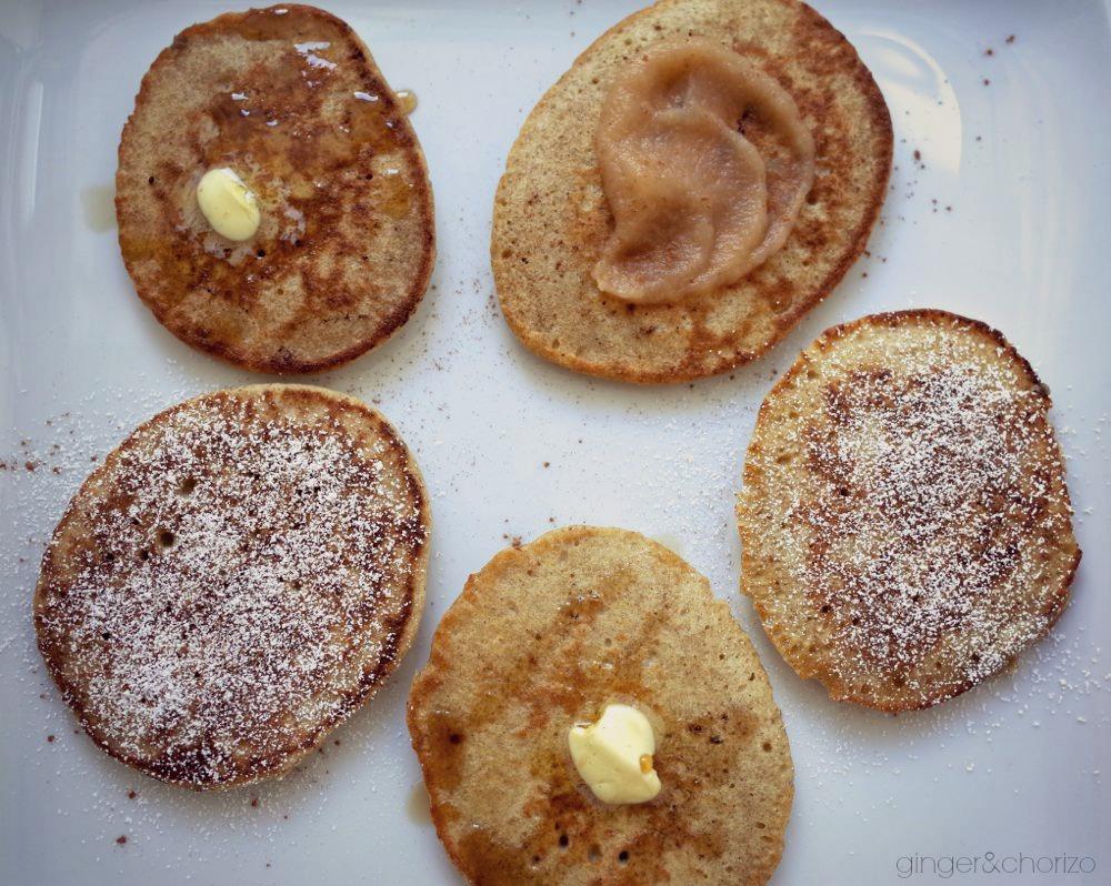 food friday on kleinstyle: glutenfree buckwheat pancakes pic ©ginger&chorizo