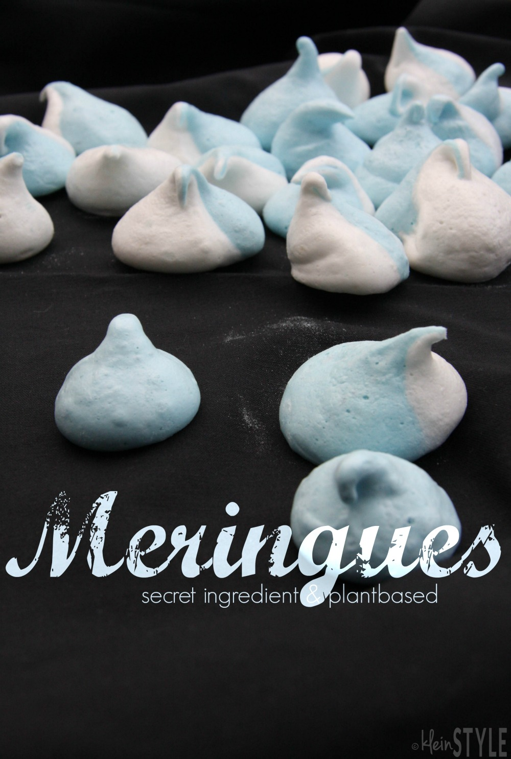 Food Love Friday : Meringue made from aquafaba