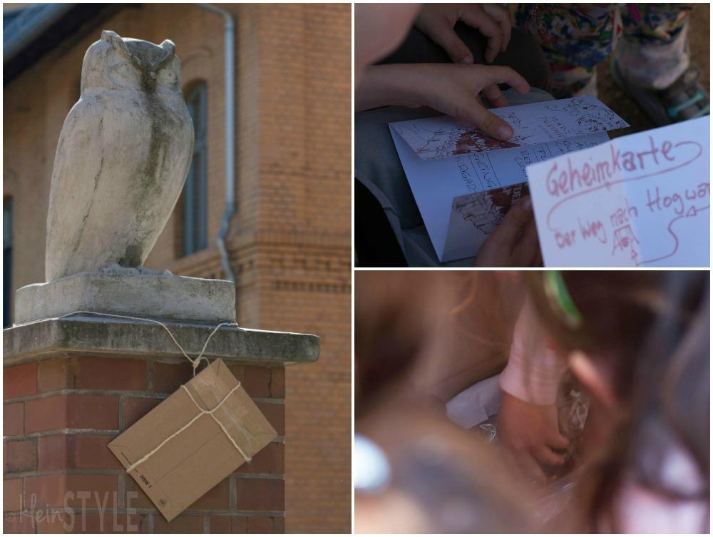 Harry Potter kids Party treasure hunt ©kleinstyle.com
