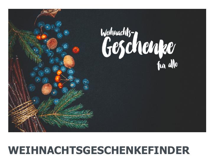 Weihnachts-Wunschliste für die ganze Familie : Geschenke Guide