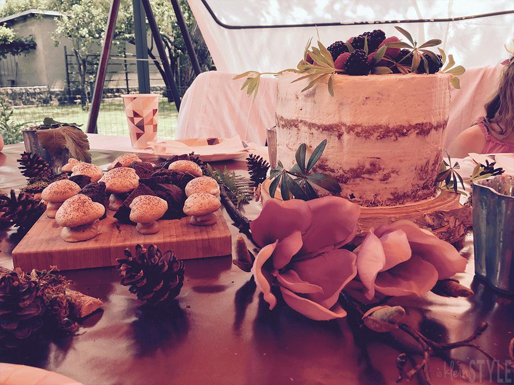 wald-feen-kindergeburtstags-party-by-kleinstyle-com-vegan-cake-brownies-meringue