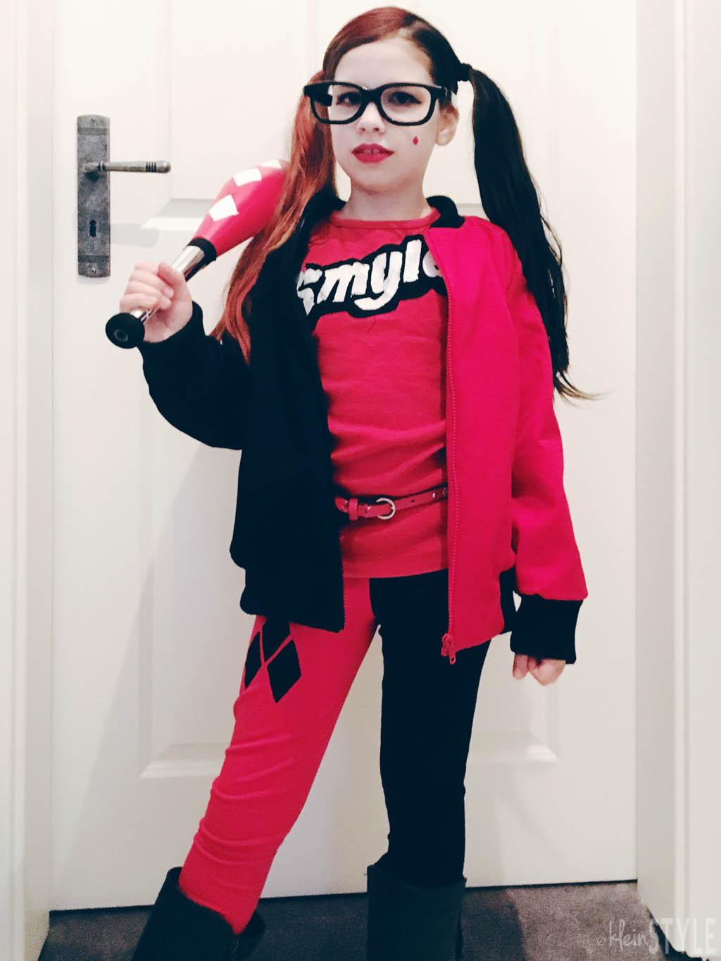 Harley Quinn LEGO Batman Movie Kids Costume Carnival Fasching Kostuem by kleinstyle.com Outfit