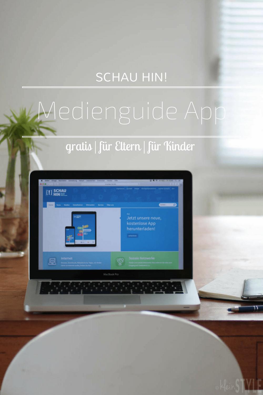 schau hin _gratis Medienguide App Elternratgeber by kleinstyle.com