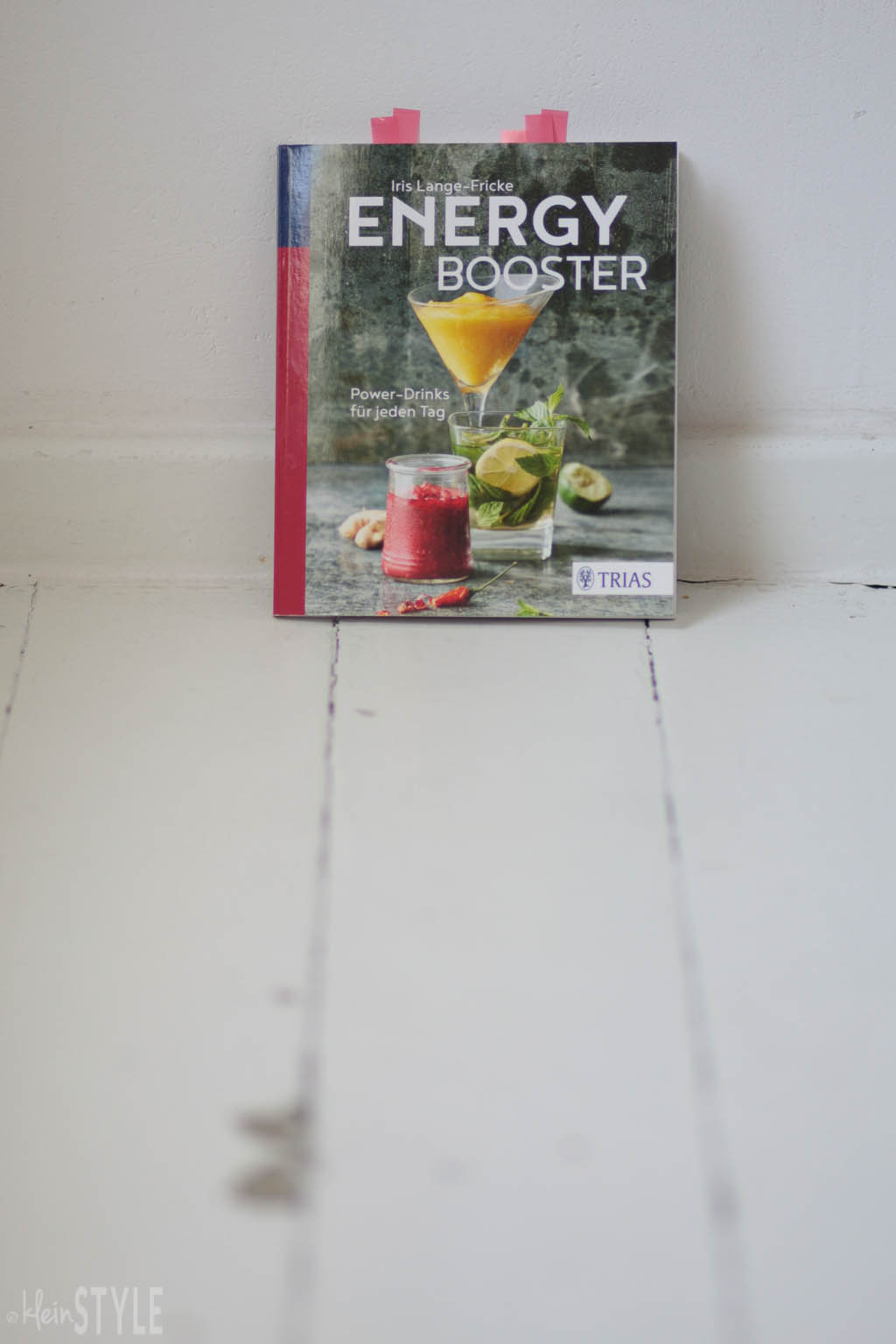 Energy Booster Powerdrinks Trias Verlag rezension by kleinstyle.com