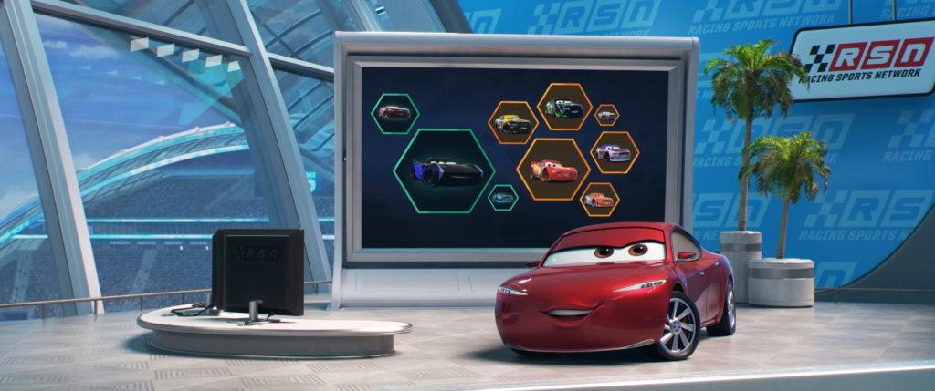 Disney•Pixar'sCars 3 : Evolution Shary Schlau gesporchen von Shary Reeves