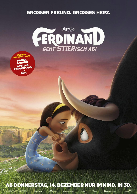 Ferdinand, der Stier mit Herz : Familien-Kino {inkl. Special Screening Verlosung}