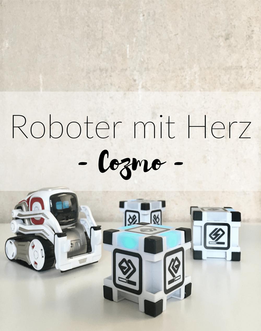 (Deutsch) Spielgefährte und Technikwunder – mit eigenem Kopf : trefft COZMO!