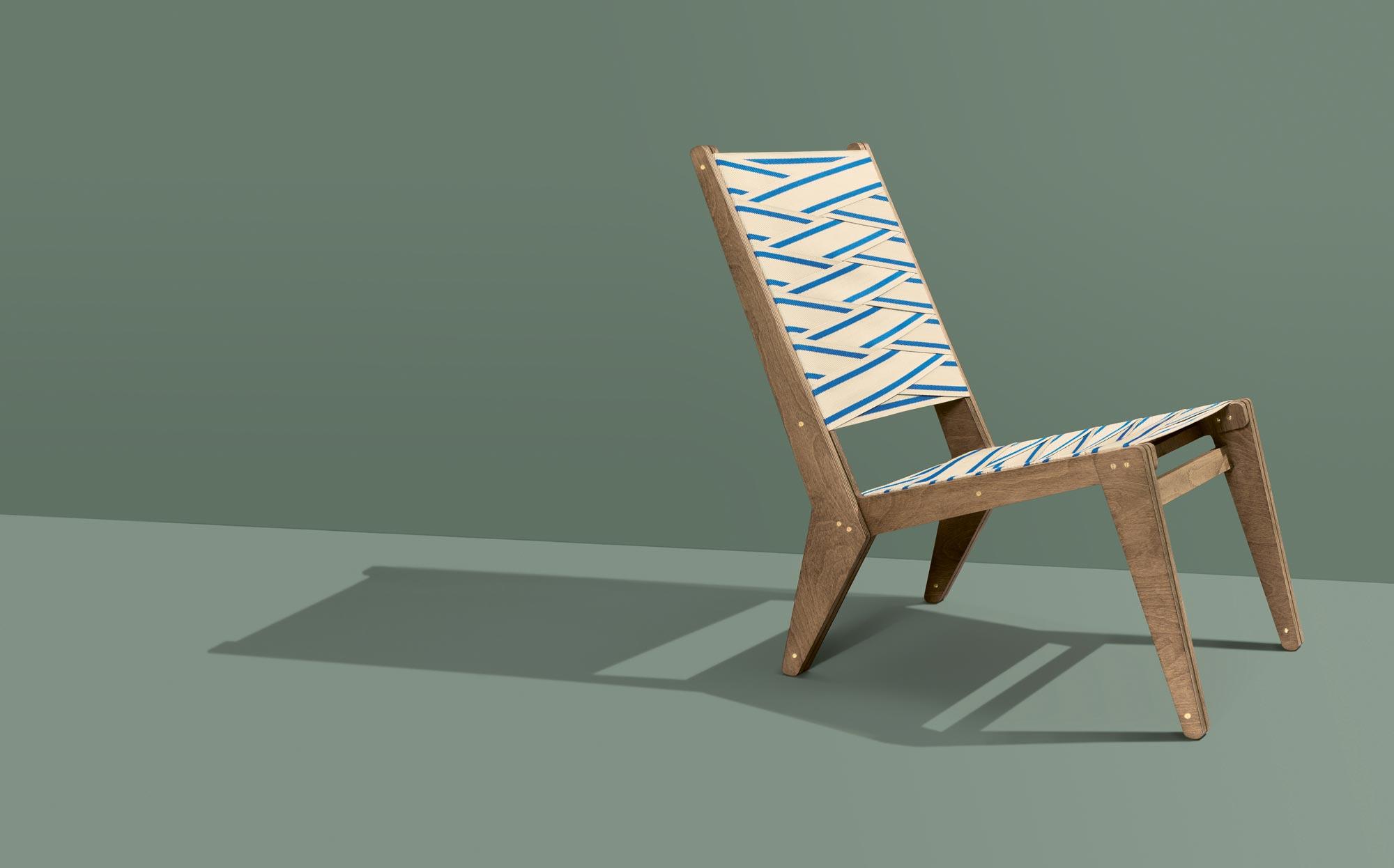 HORNBACH WERSTÜCK Edition 001 Lounge Chair by Sigurd Larsen