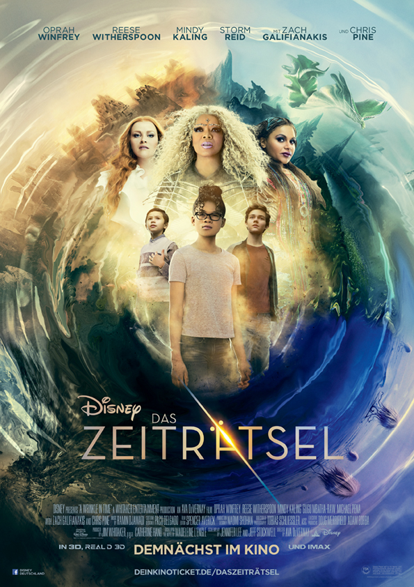 (Deutsch) Das Zeiträtsel : Disney's episches Familienkino-Highlight