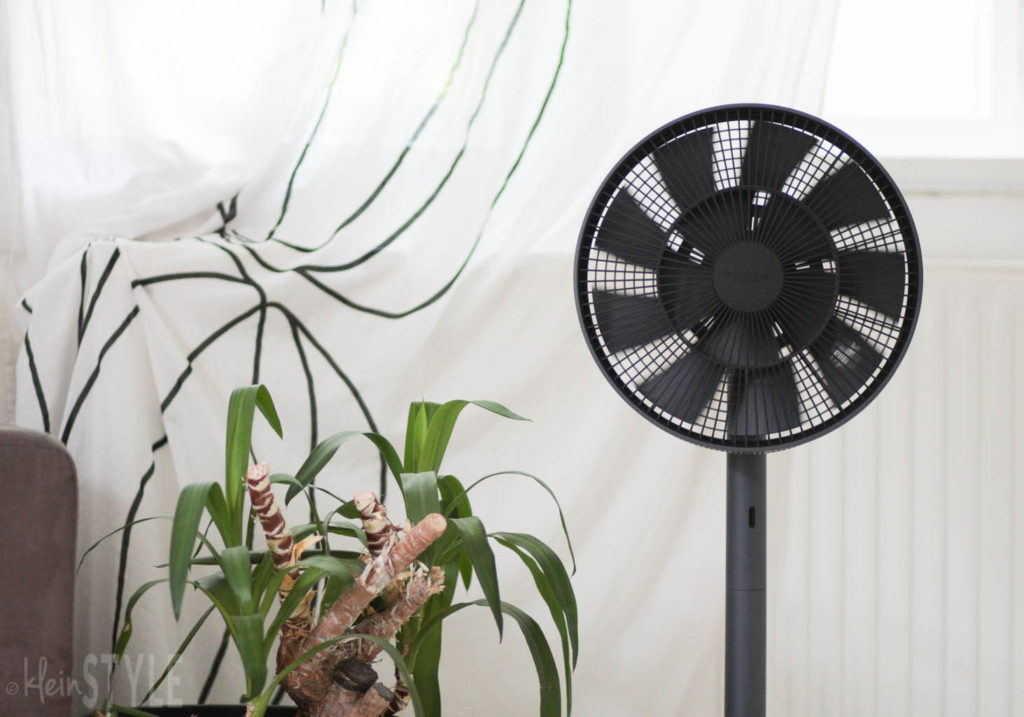 The GreenFan Ventilator- natuerliche Brise by kleinSTYLE.com getestet