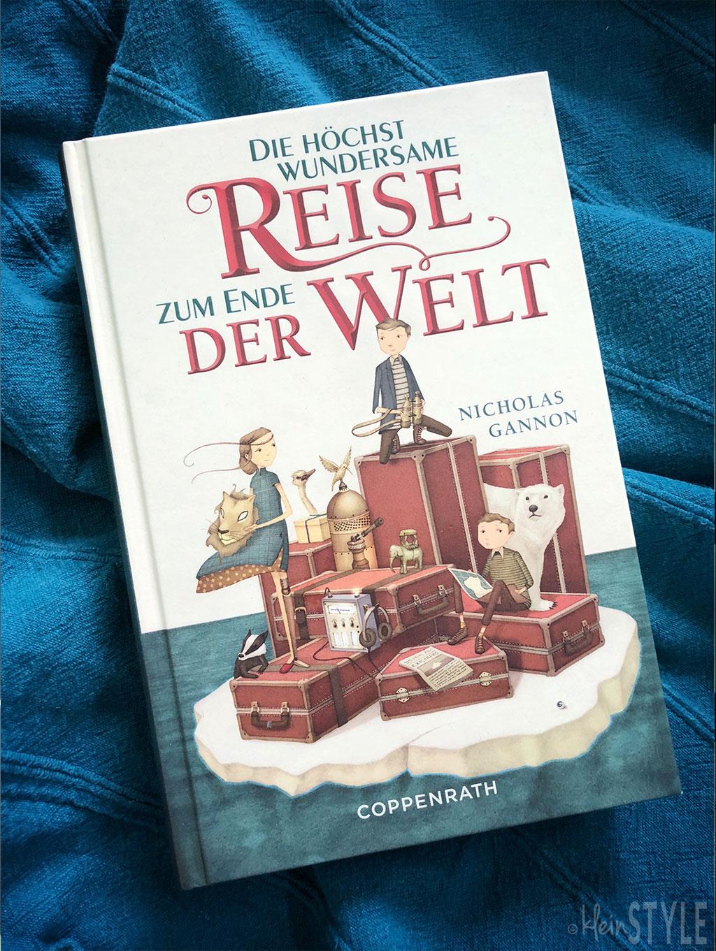 Buchtipp Leseempfehlung Kinderbuch Jugendbuch Abenteuer Roman Cover auf kleinSTYLE.com