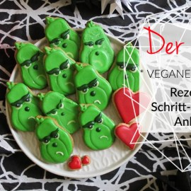 kleinSTYLE Grinch Cookies Step-by-Step Anleitung w Cover