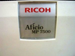 Ricoh Afficio MP 7500