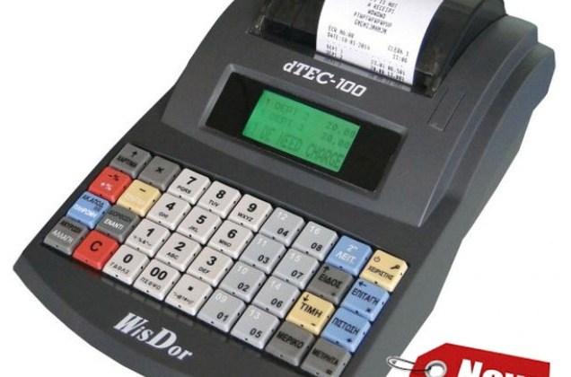 Ταμειακη Μηχανη d TEC-100