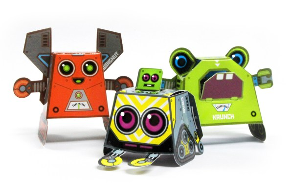 OiDroids Nuts n Bolts robot characters