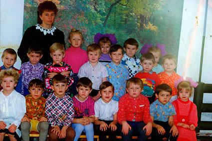 Фотографии детских садов за период 1955-2011 гг.