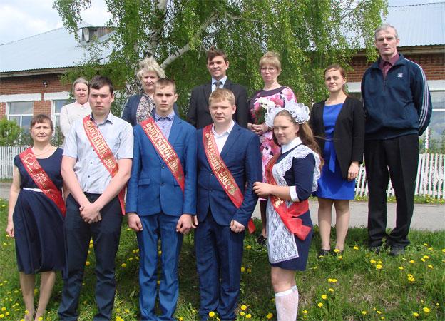 Последний звонок в Кленовской школе 2019 года