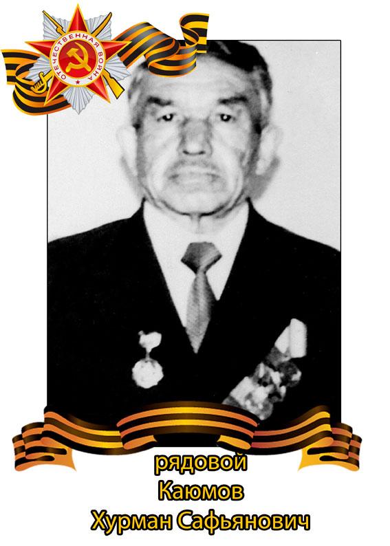 Каюмов Хурмат Сафиянович