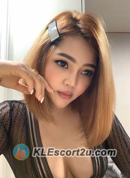 Thai girl in Black dress