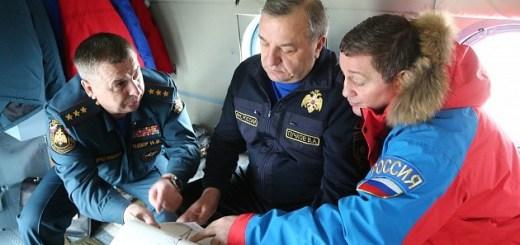 Андрей Бочаров и Владимир Пучков проводят рабочую поездку в зоне паводка