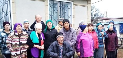 Наше участие в субботнике на территории Храма