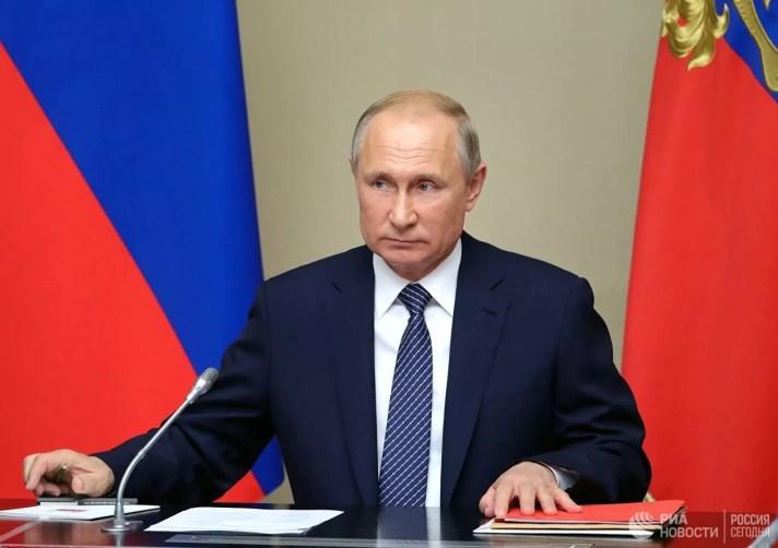 Путин подписал указ о дате голосования по поправкам в Конституцию