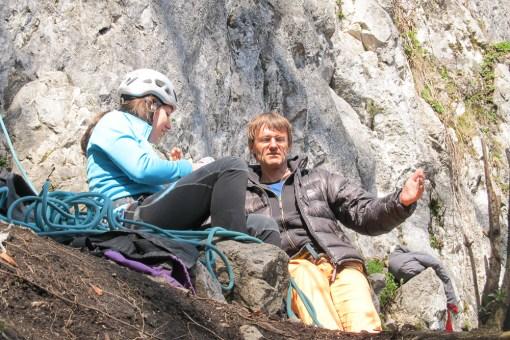 Outdoor Klettern