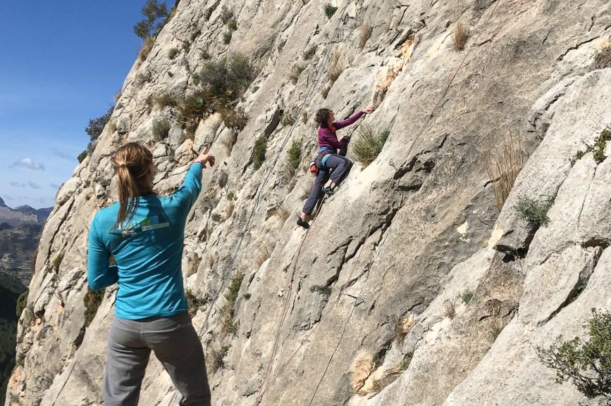 costa blanca training klettern outdoor