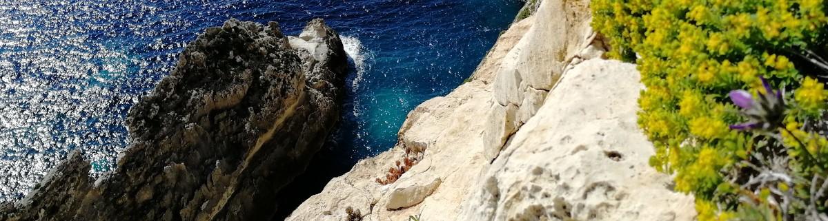 Klettergebiet IX Xaqqa auf Malte