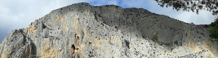 Klettern im Klettergebiet El Chorro