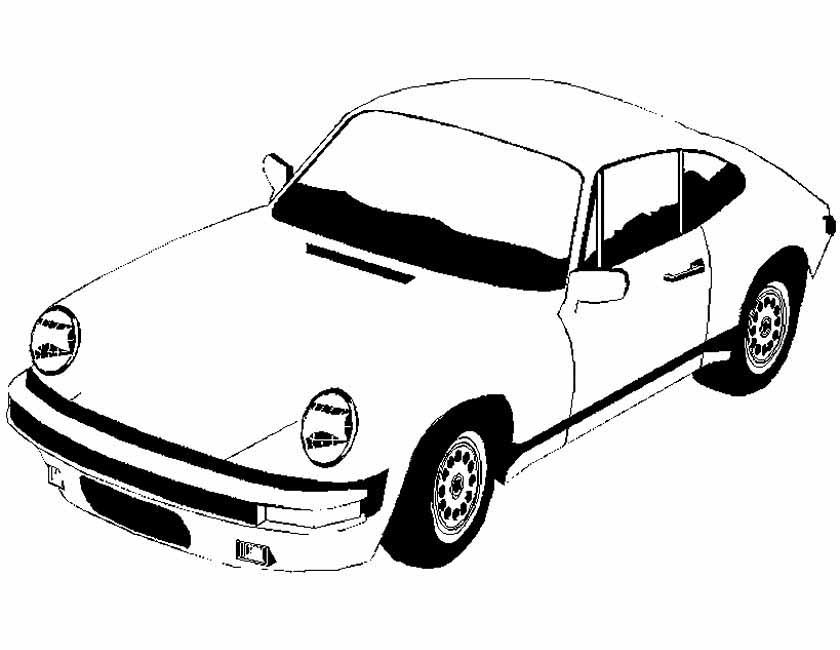 Raceauto Kleurplaten Chevrolet