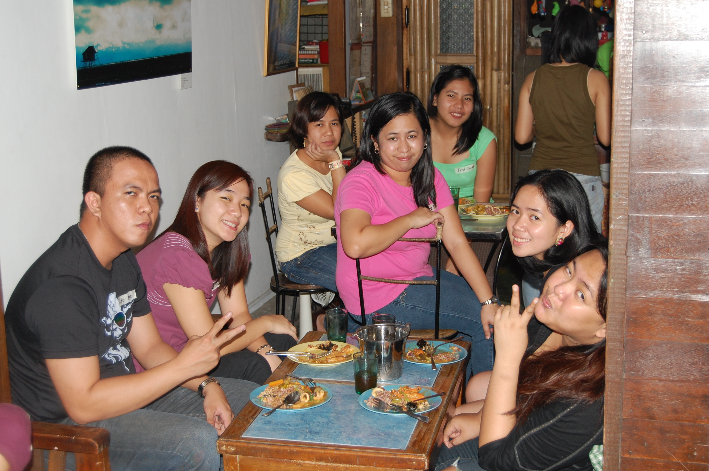 Oct.11 - Camille's baby shower and despedida at Likha Diwa, UP Diliman