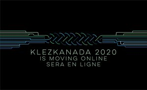 KlezKanada 2020 Graphic