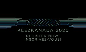 Register Now for KlezKanada 2020
