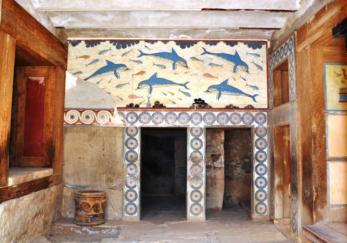 Knossos family guided tour activities for families kids love greece Crete Percy Jackson Mythology Family Trip 7-day Package