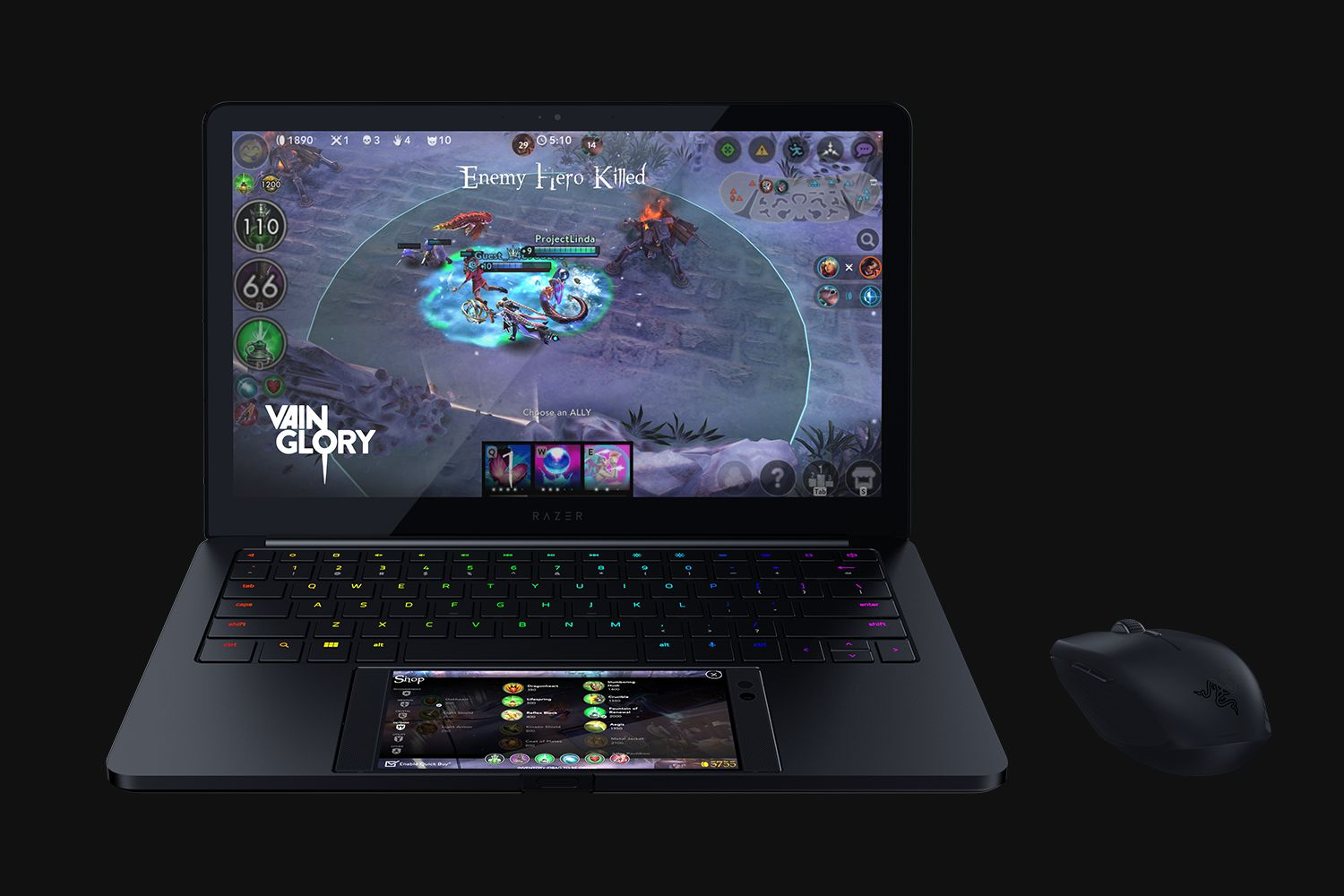 CES: Razer's Project Linda is an impressive laptop/smartphone hybrid