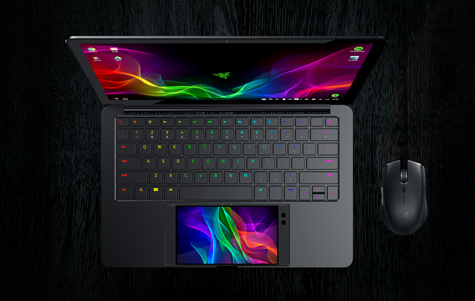Razer Project Linda Concept Turns The Razer Phone Into A Laptop