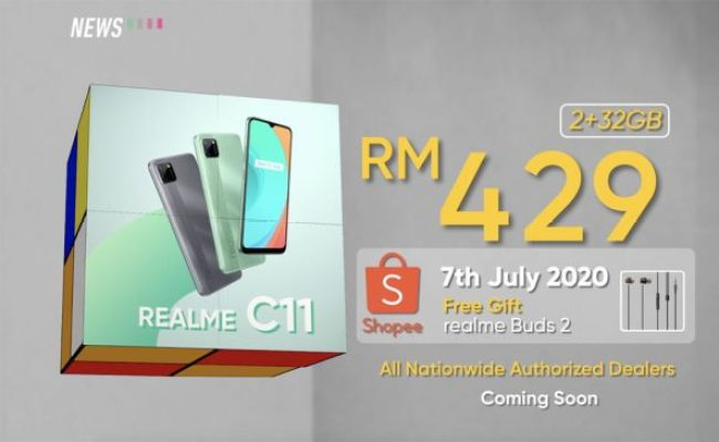 Realme C11 New Budget Phone Launched In Malaysia At Rm429