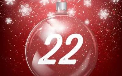 Julkalender lucka 22: Skapa suddig bakgrund