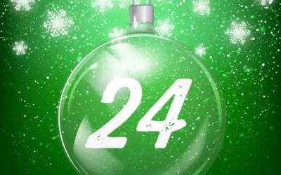 Julkalender lucka 24: Julklappslek för hundar
